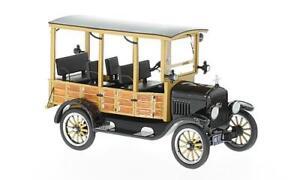 Ford-Model-T-Woody-1925-Black-1-43-Model-NEO-SCALE-MODELS