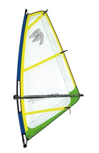Kinderrigg Monofilm 5,0 qm  Kid Rigg  NEU Kinder Segel  reduziert Windsurfen