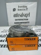 Timken 362 Roller Bearing Cup Lot Of 2 Nos