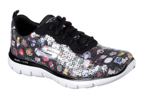 Donna Flex Your Sneaker Speak Atletica Skechers Nero 2 Appeal 0 Mind SqOSdAw