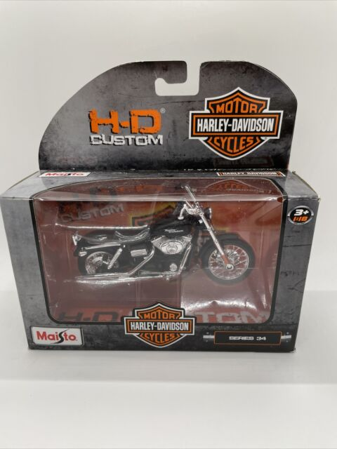 2014 SPORTSTER IRON 883 HARLEY DAVIDSON BIKE MAISTO SERIES 34 1//18