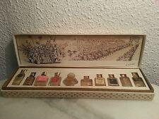 """Rare coffret ancien de miniatures """"Les parfums de Paris"""""""