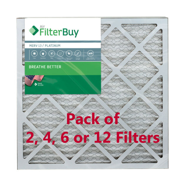 Nordic Pure 10x10x1 MERV 8 Pure Carbon Pleated Odor Reduction AC Furnace Air Filters 2 Pack