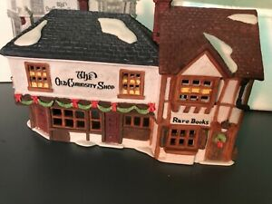 Department 56 The Dickens Village Series The Old Curiosity Shop Boxed EUC