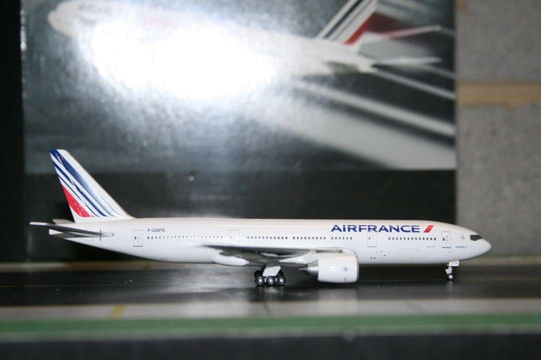Gemini Jets Socatec 1 400 Air France Boeing 777-200 F-GSPS Die-Cast Model Plane