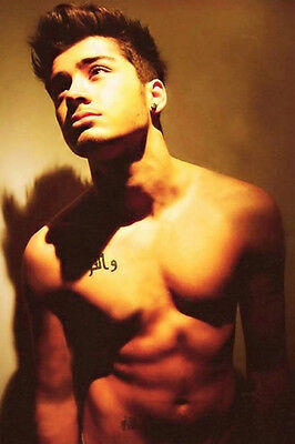 Zayn Malik hot one direction Nude male RARE PHOTO Gay interest BUY 2, GET 1 FREE