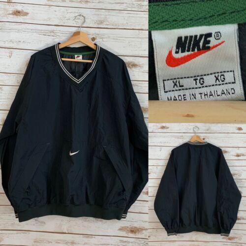 Nike 90's Vintage V Neck Pullover Windbreaker Jack