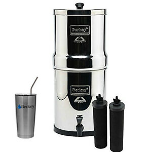 royal berkey water filter. Image Is Loading Royal-Berkey-Water-Filter-System-w-2-Black- Royal Berkey Water Filter