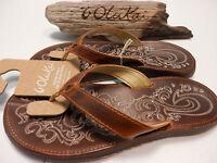 Olukai Womens Sandals Paniolo Natural Size 10