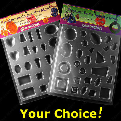 Castin'Craft Jewelry Molds for casting resin or polymer clay reuseable