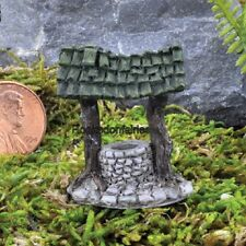 Miniature Micro Wishing Well Pick GO 17404  Fairy Garden Dollhouse Terrarium