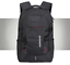 miniature 5 - New Mens Black Oxford School Backpack Satchel Laptop Casual Travel Bag 15""