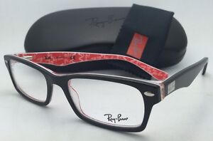 0cc5c52709 RAY-BAN Rx-able Eyeglasses HIGHSTREET RB 5206 2479 54-18 Black on ...