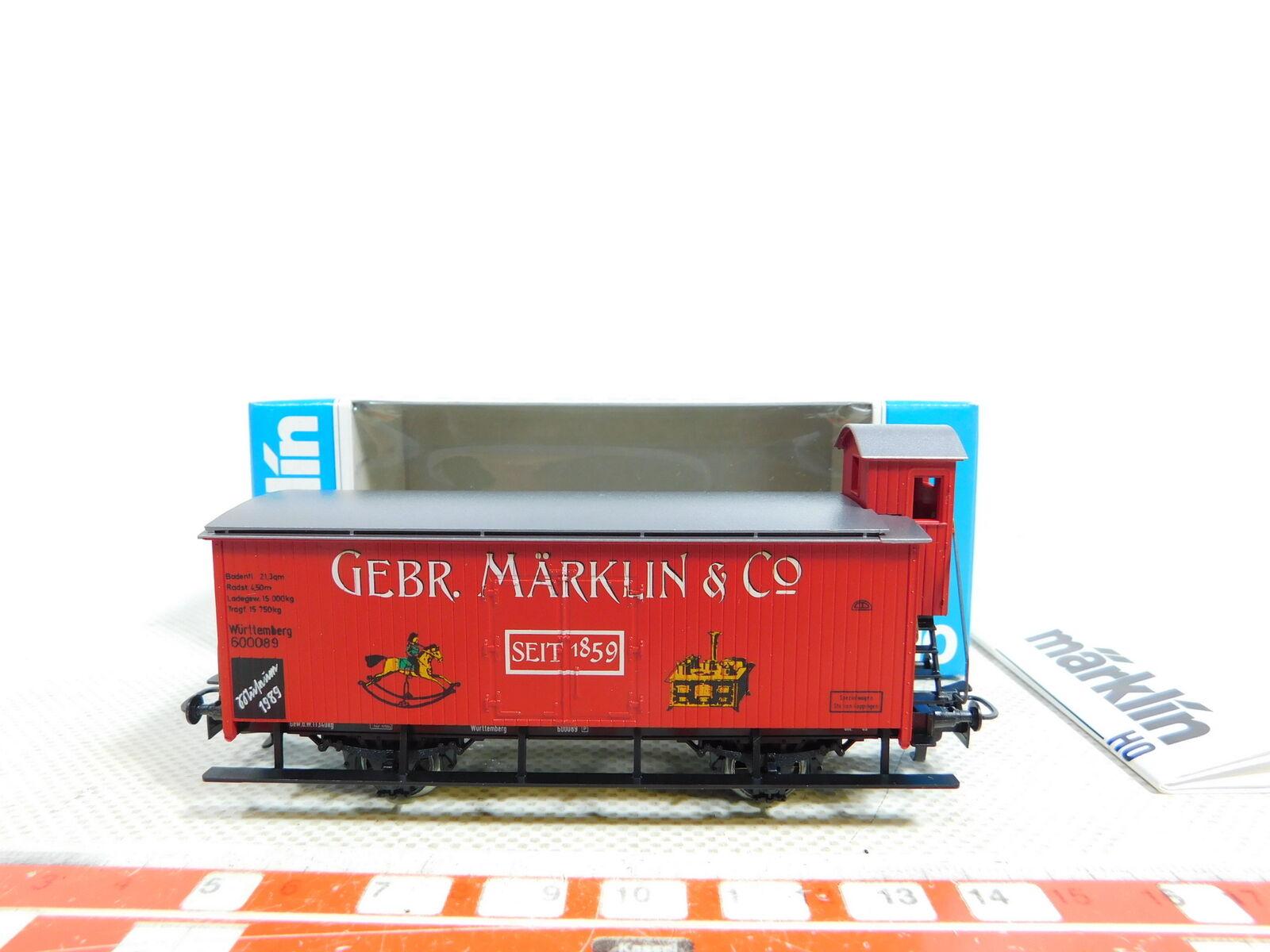 Bx29-0, 5 märklin h0   ac museum vehicle 1989 k. w. goods wagon