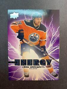 2019-20-Upper-Deck-Series-1-Pure-Energy-PE-39-Leon-Draisaitl-Edmonton-Oilers