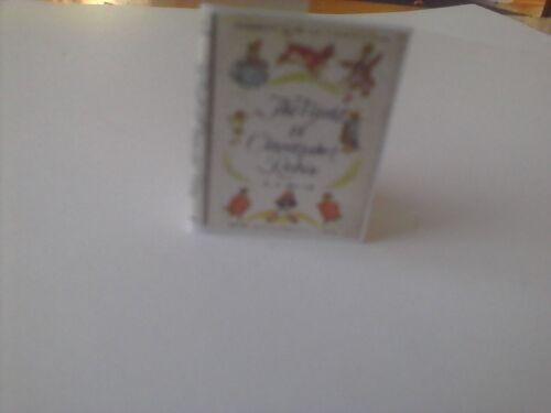 Winnie the Pooh book The World of Christopher Robin dollhouse miniature book