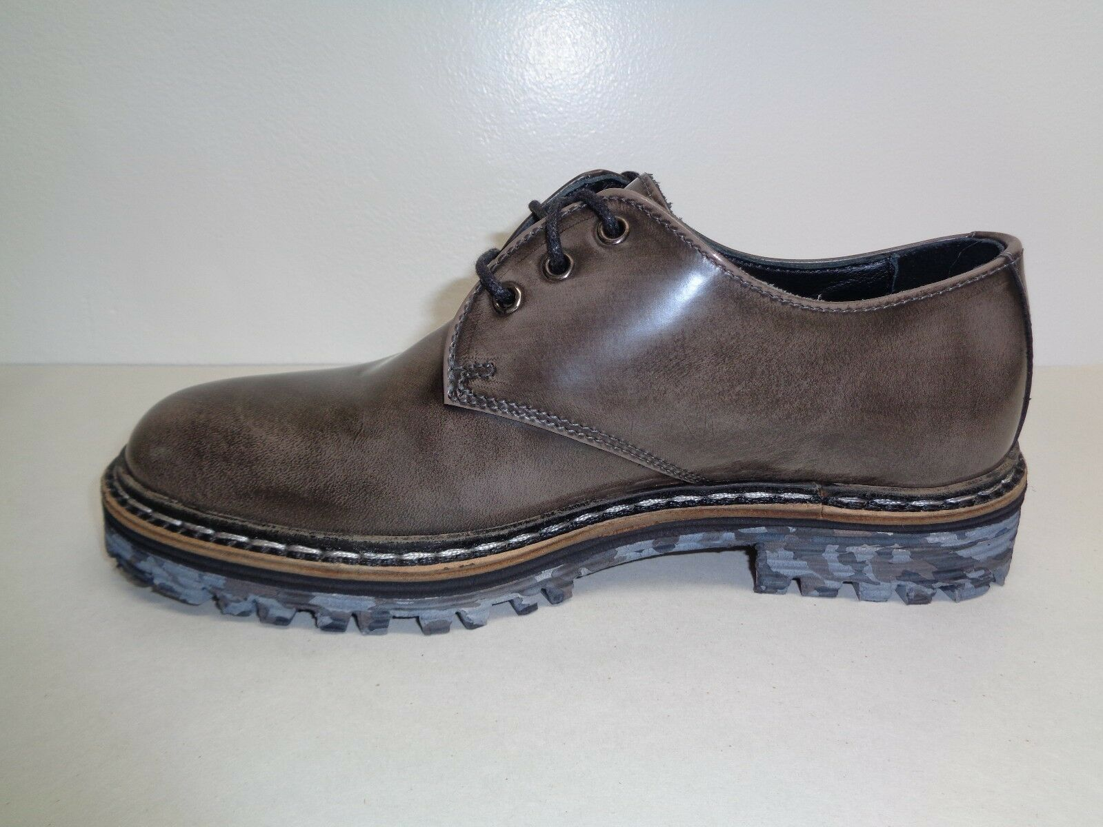 Catarina Martins Größe 7.5 to 8 PT9217 Oxfords Gray Leder Oxfords PT9217 New Damenschuhe Schuhes df5789