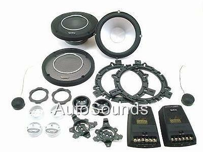 """New Infinity Reference Series REF6030cs 6-1/2"""" Component Speaker System 6.5"""