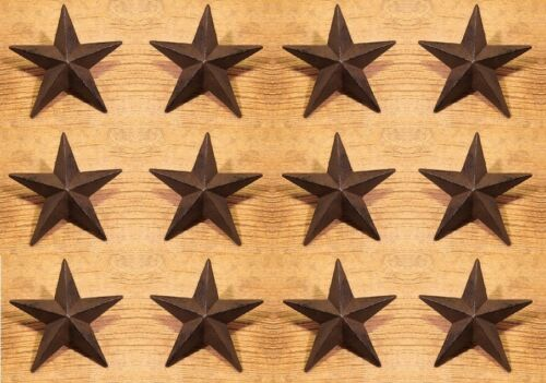 """Home Decor 0170-02109 Set of Twelve Texas Star Nails Xtra-Large Rustic 5/"""" wide"""