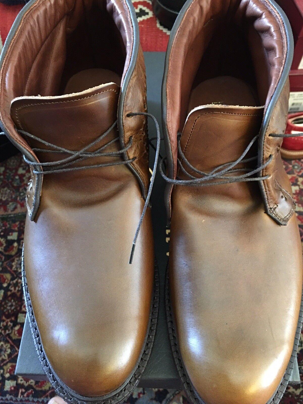 Allen Edmonds Bellevue  Boot 13e 13 Brand  New  Brown
