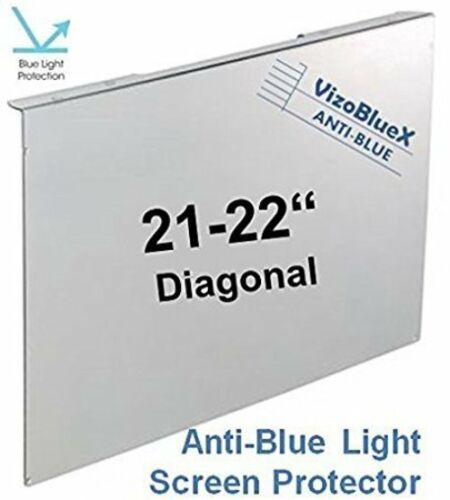 21-22 inch Anti-Blue Light Computer Monitor Filter 4 PC Screen Protection