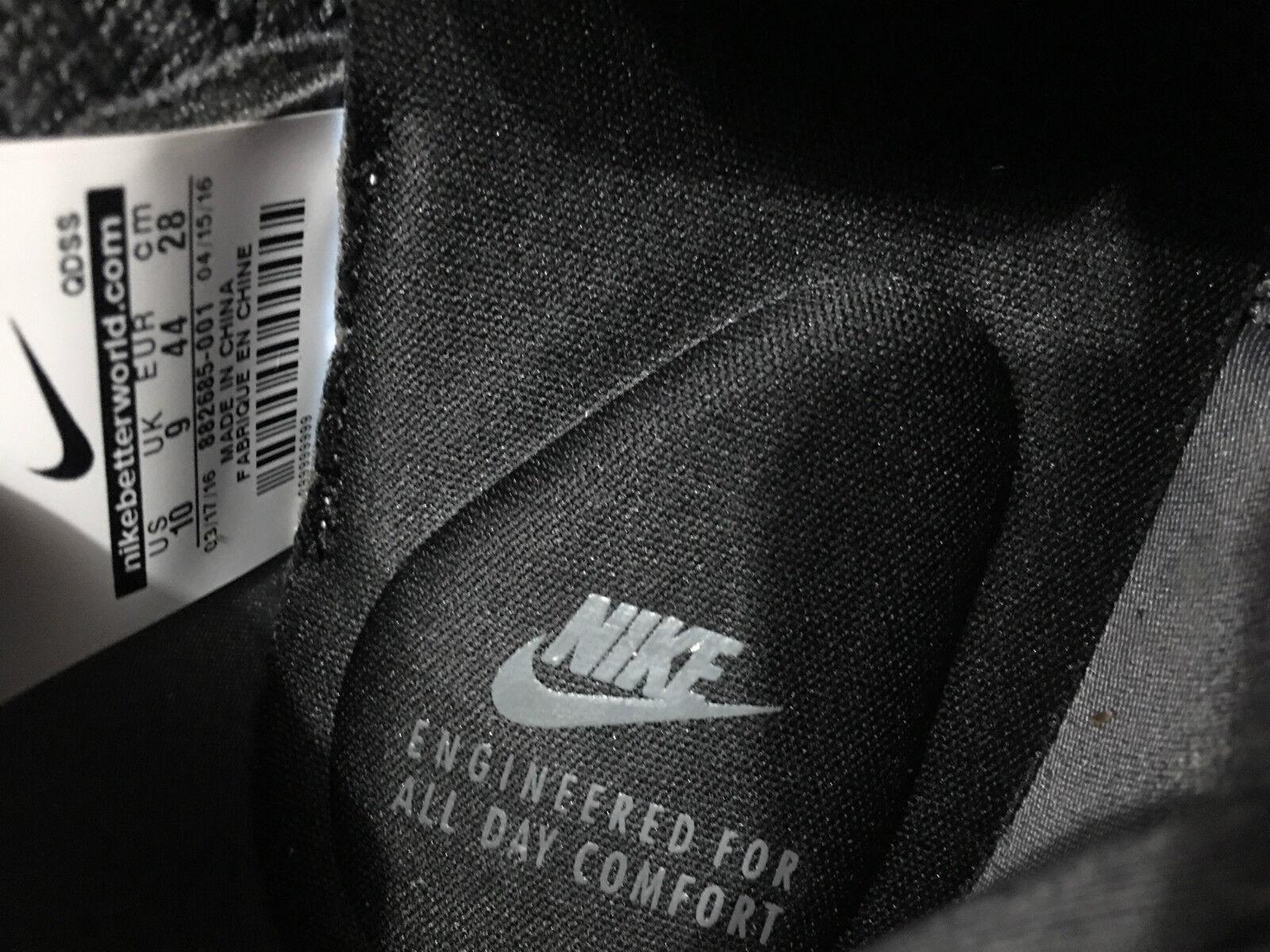 Nike lupinek flyknit niedrigen proben - dunkle cool grau - proben schwarze segel sz 10 0ef593
