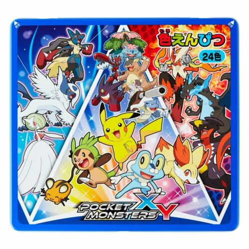 Coloring pencil Colouring Pokemon XY 24 colors 689727002 Japan beautiful F//S