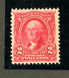 US-Stamps-301-2c-Washington-SUPERB-OG-NH-P-O-Fresh-Choice