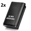 2x-4800mAh-Rechargeable-Battery-Pack-for-Xbox-360-Wireless-Controller thumbnail 1