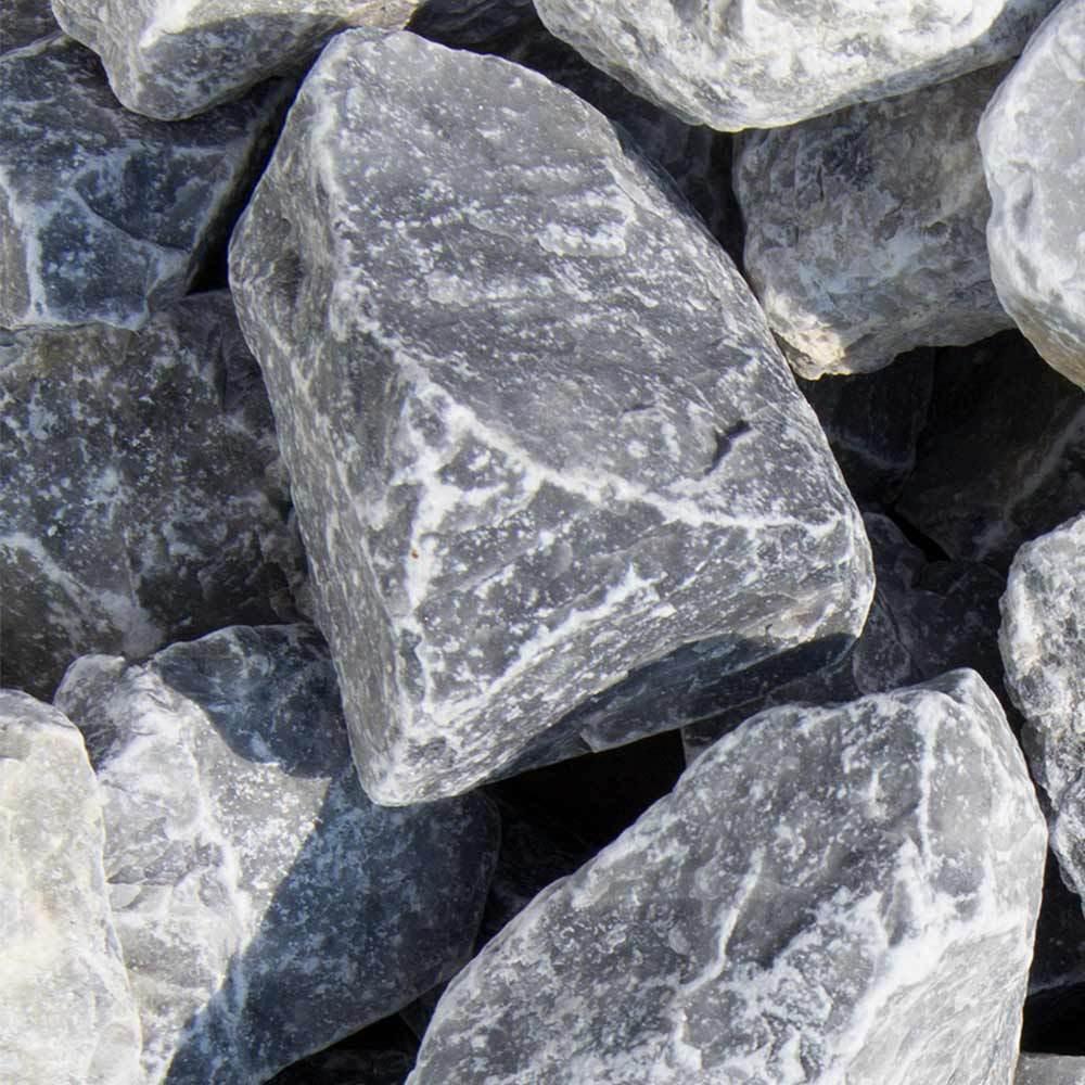 ( kg) Ice blå Bruchsteine Marmor Eisblau Big Bag 750kg Gabionensteine