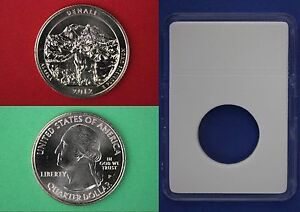 Silver 2012 S Denali Proof Quarter With 2x2 Snap Deep Cameo Combined Shipping
