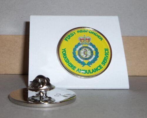 Ambulance Service Yorkshire First Responder Lapel pin badge