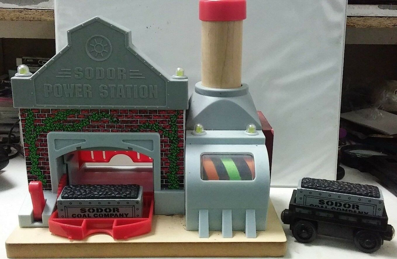 Thomas and Friends Wooden Railway Sodor Power Station