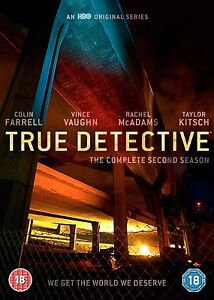 TRUE-DETECTIVE-COMPLETE-SERIES-2-DVD-2nd-Second-Season-Two-Original-UK-Releas-R2
