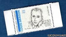 N°2683 - TIMBRE NEUF Louis Aragon 1897-1982 France 1991
