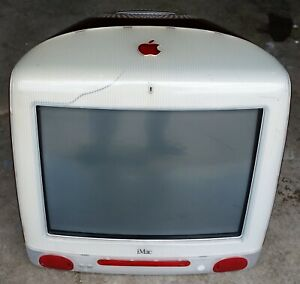 Vintage Apple Macintosh iMac M5521 Ruby All-in-One Desktop Computer *Working* AS