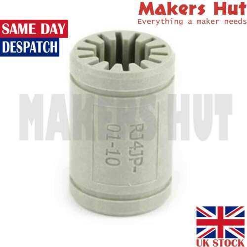 Polymer LM10UU Bearing Igus DryLin 3D Printer RJ4JP-01-10 10x19x29mm