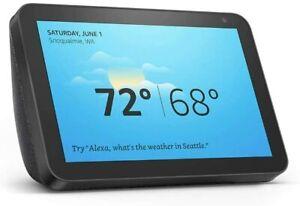 Amazon Echo Show 8 Alexa Charcoal Smart Speaker