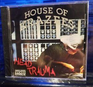 House of Krazees - Head Trauma CD SEALED twiztid insane clown posse the r.o.c.