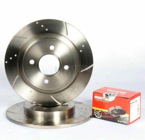Mazda MX5 1.6 1.8 94-05 Rear Performance Brake Discs and Mintex Brake Pads