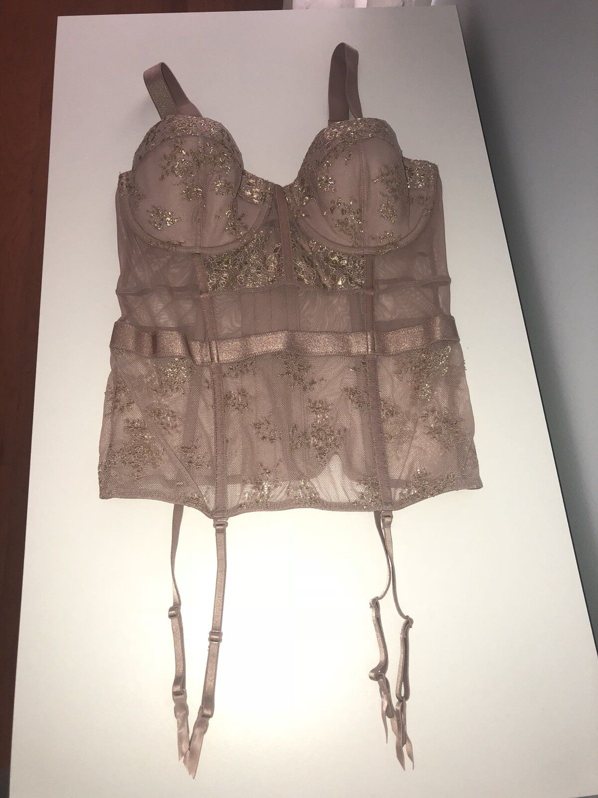 Victorias Secret Sexy Lace Push Up Corset Size 34C NWT Holiday Gift