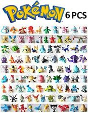 6 Pcs Set Pokemon PVC Mini Action Figure Figure Set RANDOM DESIGN Size 2 - 3 CM