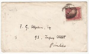 1857-WC-2-LONDON-UDC-Gt-RUSSELL-ST-BLOOMSBURY-1d-STAR-ENV-TO-F-G-STEPHENS-ART