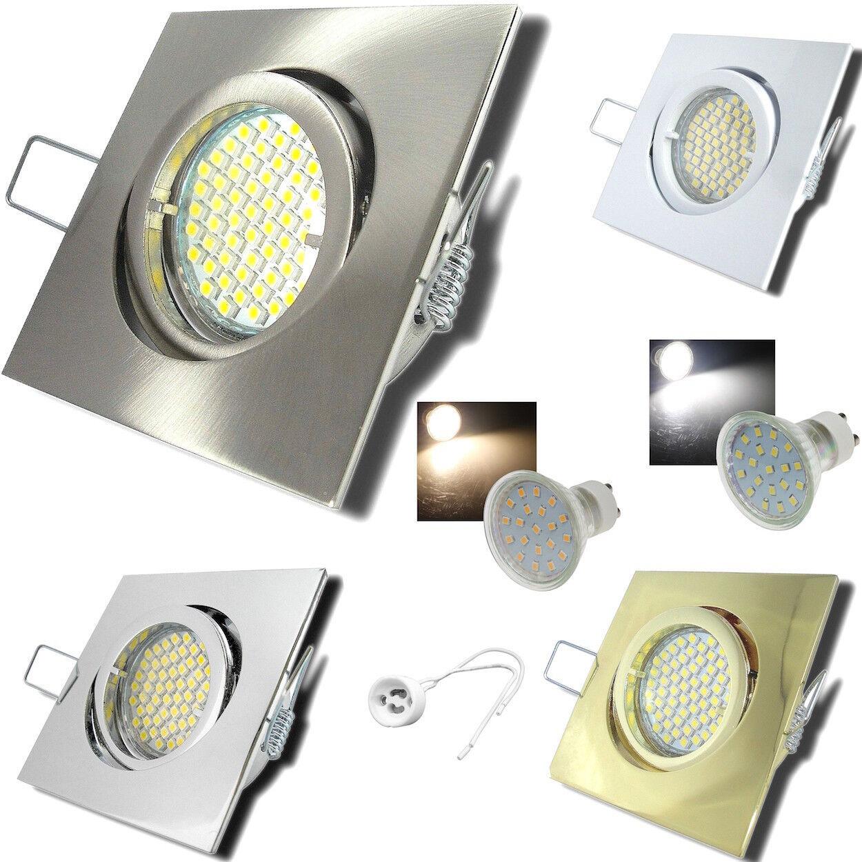 4- 25er Sets  LED Einbaustrahler Dario 230Volt Downlights 5W50W Einbauspots HV. | Hervorragende Eigenschaften  | Niedrige Kosten  | Online-Exportgeschäft