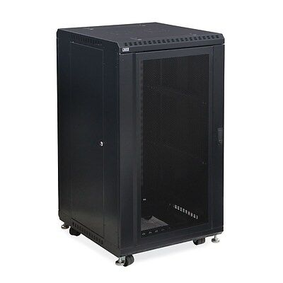 "Humor Kendall Howard 22u Linier® Server Cabinet Convex Vented 36"" Depth 3110-3-001-22 Racks, Chassis & Patch Panels Enterprise Networking, Servers"