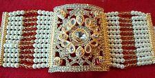 Pakistani gold indian bracelet bangles kalai bazoband cuff jewellery earrings