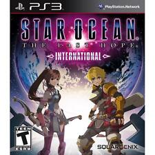 Star Ocean: The Last Hope International - Playstation 3 Game WITH ORIGINAL CASE