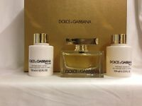 The One By Dolce & Gabbana Perfume For Women 3pc Gift Set 2.5 + 3.3 +3.3