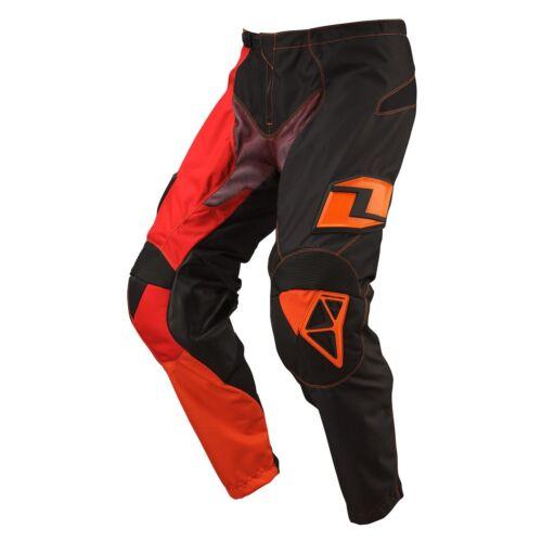 NEW ONE INDUSTRIES ATOM  ATV  MX BMX RACING PANTS  PANT BLACK//RED  size 28