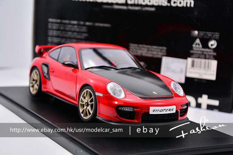 ti renderà soddisfatto AutoArt 1 18 PORSCHE PORSCHE PORSCHE 911 (997) GT2 RS 2010 rosso  Senza tasse